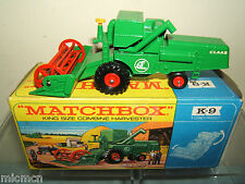 MATCHBOX KING SIZE MODEL No.K9-2 CLAAS COMBINE HARVESTER MIB