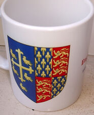 English Royal Arms England  1395-1399 beautiful CERAMIC MUG