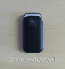 Genuine Original Blackberry 9100 9105 Carry Pouch Case Leather Pocket - NEW