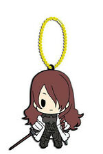 Persona 3 Mitsuru D4 Rubber Key Chain Anime Licensed NEW