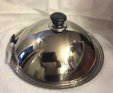 New~Scanpan Classic(wok) 12-1/4-Inch Stainless Cover-ship free