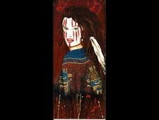 """""""La Chola"""" by Henri Peter, 14"""" x 32"""" Canvas"""