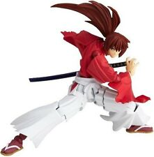 Used Rurouni Kenshin Revoltech Super Poseable Action Figure #109 Himura Kenshin