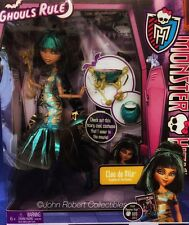 MONSTER HIGH GHOULS RULE CLEO DE NILE DRESSED DOLL  NRFB