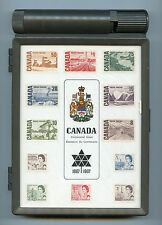 Weeda Canada Thematic Collection #1, 1967 Centennial Stamp Case. CV $12.50