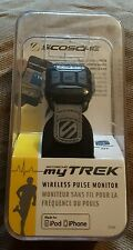 Scosche myTREK Wireless Esercizi Fitness Pulse Monitor per iPhone e iPod NUOVO