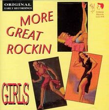 More Great Rockin' Girls by Various Artists (CD, Col...