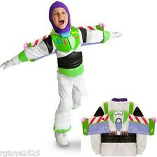 Disney Toy Story Buzz Lightyear Costume Size 5-6 S New Small Light-up Wing tips