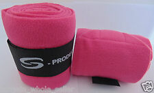 POLO FLEECE BANDAGES EXERCISE DRESSAGE SCHOOLING VET STABLE HORSE LEG WRAPS 4X5""