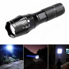 Waterproof 5000LM XML T6 LED Flashlight Zoomable 18650 / AAA Tactical Lamp Torch