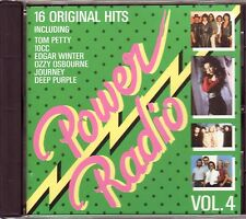 VARIOUS – Power Radio Vol.4 (Sony Music – Germany) BOSTON, KANSAS, AMERICA