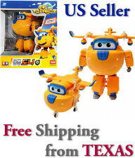 Donnie - Auldey Super Wings Transforming Plane Toy Robot  / USA SELLER