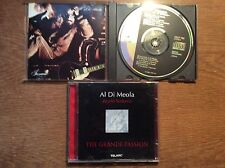 Al Di Meola [2 CD Alben] Scenario CBS Japan 1983 38DP 102+ World Sinfonia GRANDE