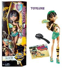 Monster High GLOOM BEACH Cleo De Nile Doll Daughter of the Mummy NEW Hard 2 Find