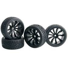 RC HSP 601-8001 Rally Tires & Wheel, D:65mm, W:26mm, Rim hex:12mm For 1:10 Buggy