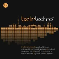 CD Berlin Techno 4 von Various Artists 2CDs