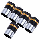 """5 PCS 1.25"""" inch Fully Coated 62-Deg Eyepiece for 31.7mm Astronomical Telescopes"""