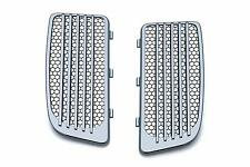 Kuryakyn Radiator Grills Lower Fairing Twin Cooled Ultra Limited Harley TriGlide
