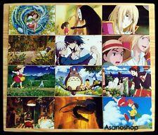 Ghibli Miyazaki Anime Mon Voisin TOTORO Lot de 12 Cartes Postal II となりのトトロ
