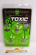 Flying Arrow Archery - The Toxic Broadhead - 125 Grain - T3125