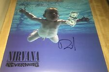 David Grohl Drummer Nirvana Hand Signed Nevermind Autographed Album w/COA Proof