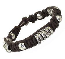 A216 Surfer Armband Flechtarmband Biker Rock Herren Damen Shamballa Bracelet Men