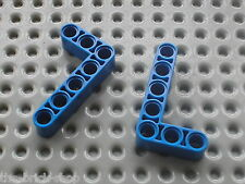 LEGO Technic 2 blue Beam 3 x 5 Bent 90 ref 32526 / Set 8285 7680 8421 8053 8258