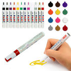 12 Colors Sets Fine Paint Oil Based Art Marker Pen Glass Metal Waterproof New