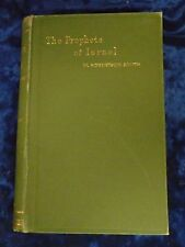 THE PROPHETS OF ISRAEL by W. ROBERTSON SMITH H/ B 1897 ADAM & CHARLES BLACK