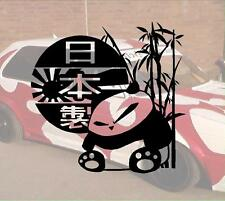 Panda Risingsun Kanji Hater JDM Sticker Aufkleber PS Power fun like Shocker