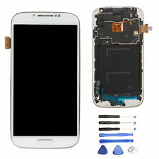 White LCD Touch Screen Digitizer Replacement + Frame for Samsung Galaxy S4 I337