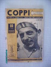 FAUSTO COPPI CAMPIONISSIMO CICLISMO NUMERO UNICO  1951 CAMPIONI GIORNO GAZZETTA