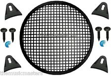 """1X Black 15"""" inch Sub Woofer Speaker Mesh WAFFLE GRILL Protective Cover VWLTW"""