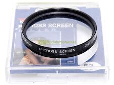 52mm. Filtro R Cross screen Kenko.