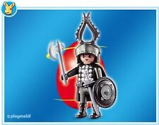 Playmobil 4917 Red 2005 Easter Egg with Medieval Castle Knight & Accessories New