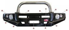 MCC 4WD BULLBAR SINGLE STAINLESS STEEL LOOP TOYOTA HILUX 05-11