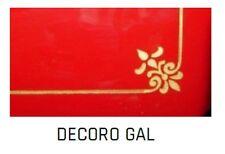 Decorazione dorata tipo GAL per affettatrici a volano mm 250/300/350/370 Fac