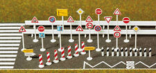 Busch 8121 Traffic Signs Kit - N Gauge - 1st Class Post