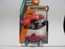 New Matchbox RED JEEP WILLYS 4 x 4
