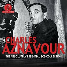 Absolutely Essential - Charles Aznavour (2015, CD NEUF)3 DISC SET