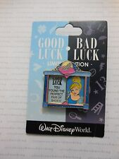 "2013 Disney World Good / Bad Luck CINDERELLA ""You Lost One"" Glass Slipper Pin #7"