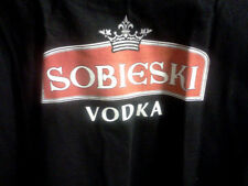 "Sobieski Vodka ""Wodka Polska"" Men's T Shirt Sz L Brand New"