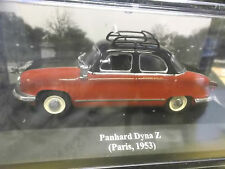 Panhard dyna z taxi paris france rouge red black 1953 IXO ALTAYA 1:43