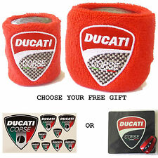 DUCATI RESERVOIR COVERS WITH FREE GIFT SOCK WRISTBAND MONSTER  MTS1200 DIAVEL