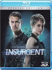 Blu Ray INSURGENT - THE DIVERGENT SERIES (3D) (Blu-Ray 3D) - Special Edition NEW