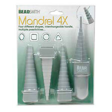 Beadsmith Multi Mandrel Set - Assorted Shapes x 4 - FREE POSTAGE