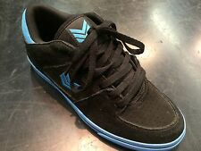 Skateboarding Shoe Vox Trooper Black/Cyan Size 8