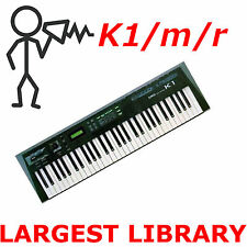 Kawai K1 K1r K1m K1II  Largest Patch Sound Program Library SysEx - Fast Access