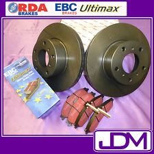 HOLDEN HD, HR (1965-1967) - RDA Front Brake Discs & ULTIMAX Pads