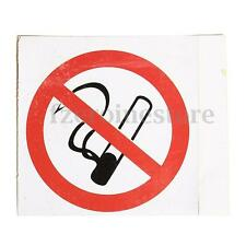 6Pcs Waterproof No Smoking Self Adhesive Seperate Warning Signs Decal Stickers
